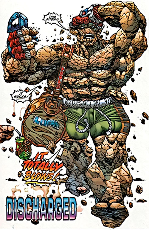 Rubble from Bloodpool (Image Comics)