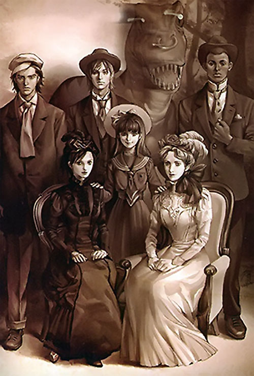 Runaways (Marvel Comics) 19th century B&W photo