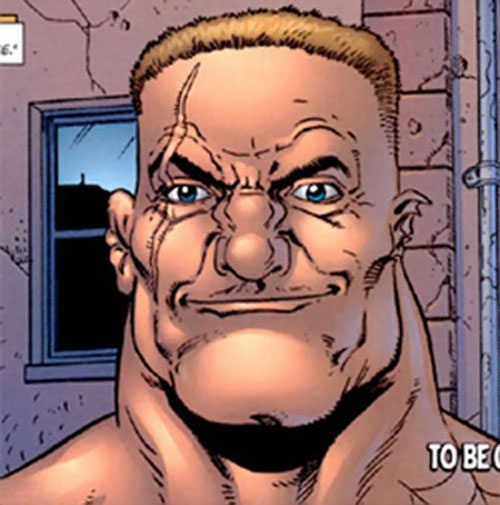 The Russian (Punisher enemy) (Marvel Comics) face closeup
