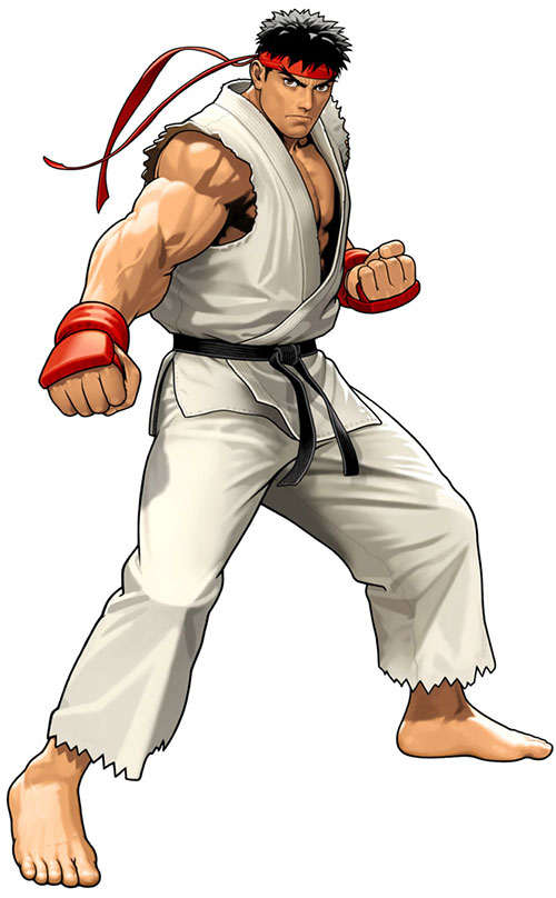 Ryu from Street Fighters