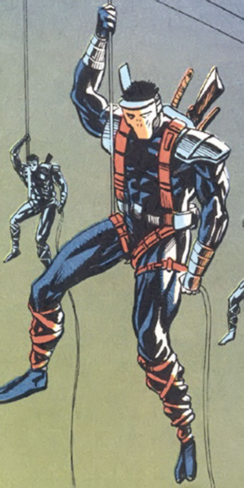 SHIELD ninja commandos (Marvel Comics UK)