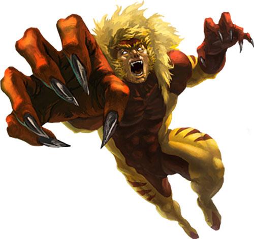 Sabretooth (Character) - Comic Vine