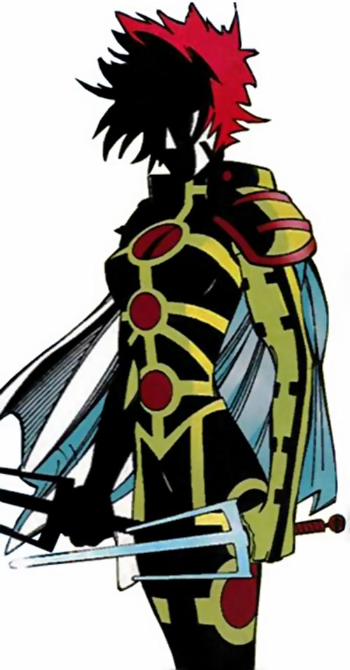 Sai (Heroes for Hire enemy) (Marvel Comics)