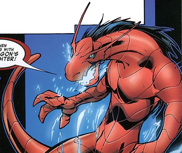 Salamandra in dragon form