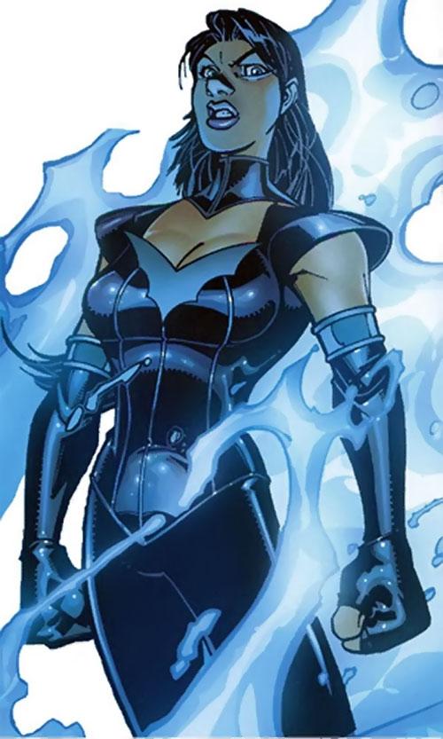 Salamandra of the Frightful 4 (Fantastic 4 enemy) (Marvel Comics)