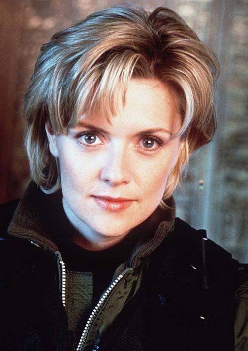 Samantha Carter (Amanda Tapping in Stargate SG-1) portrait