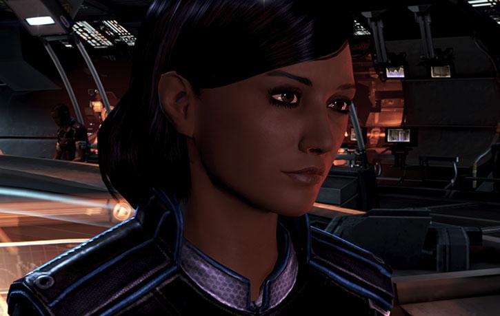 Samantha Traynor face closeup