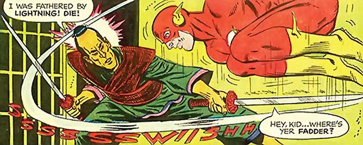 Daisho vs. the Flash