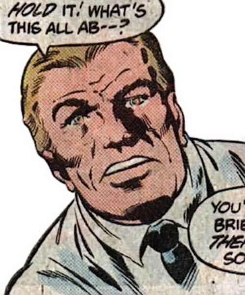 Jack Kirby's Sandman (DC Comics) as Garrett Sanford