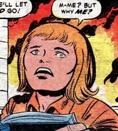 Jed Paulsen is Sandman's kid friend (Jack Kirby) (DC Comics)