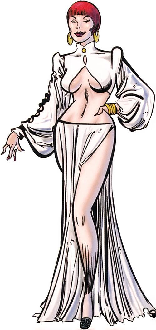 Sapphire Styx (Wolverine enemy) (Marvel Comics) in white