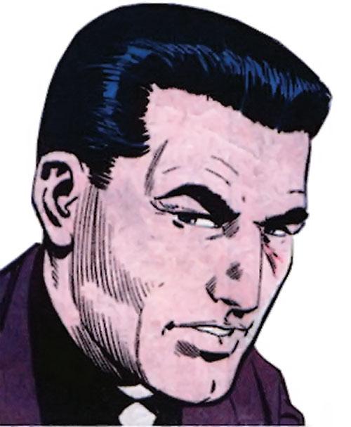 Sarge Steel (Charlton comics) vintage portrait