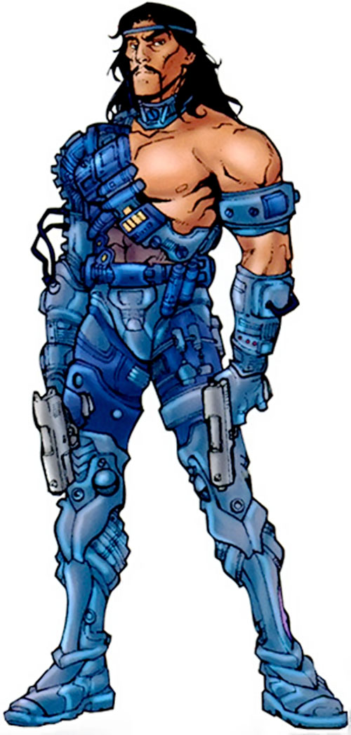 Scalphunter of the Marauders (X-Men enemy) (Marvel Comics)