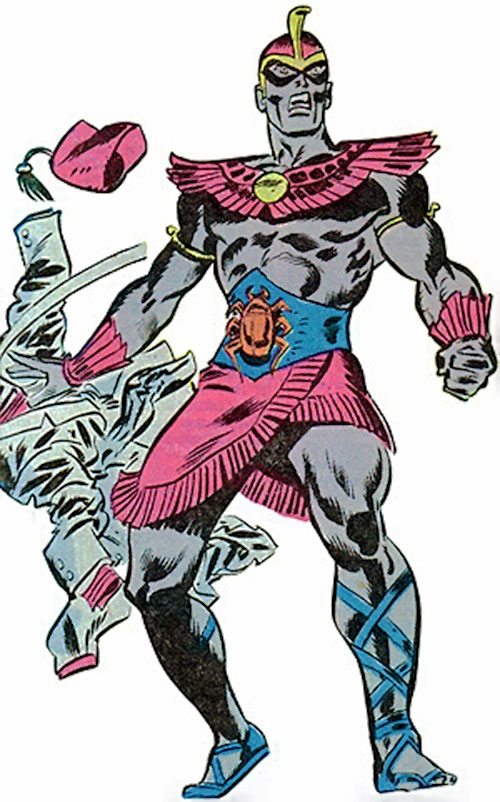 Scarlet Scarab (Invaders character) (Marvel Comics)