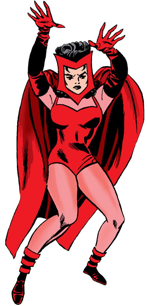 Scarlet Witch of the Avengers (Early version) (Marvel Comics)