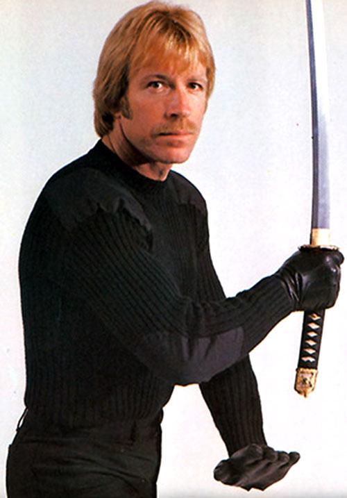 Scott James (Chuck Norris in The Octagon)