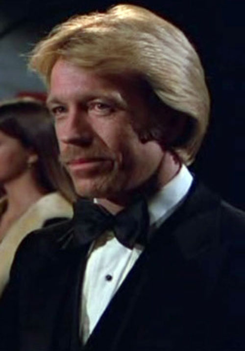 Scott James (Chuck Norris in The Octagon) in a tux