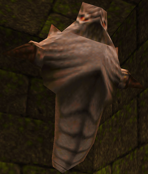 Scrag in Quake video game, low angle