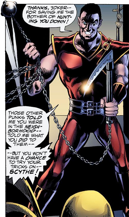 Scythe (Iron Fist enemy) (Marvel Comics)