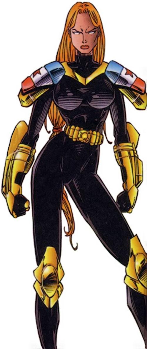 Scythe of StormWatch (Serbian super-hero) (Wildstorm Comics)