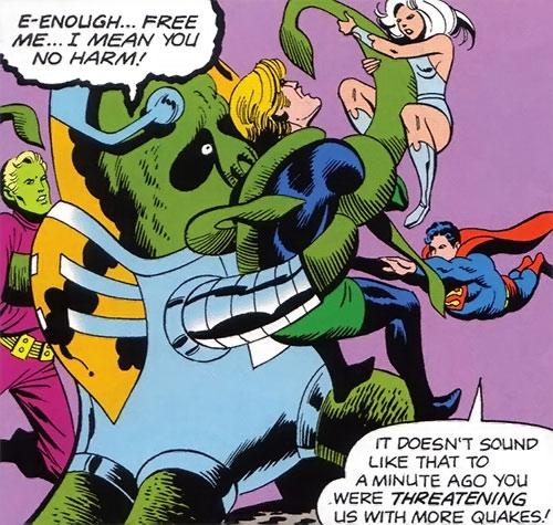 Sden (Legion of Super-Heroes enemy) (DC Comics) vs. the LSH