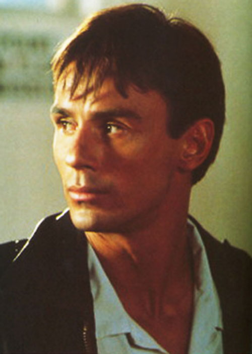 Sean Lambert (Olivier Gruner in Interceptor Force) face closeup