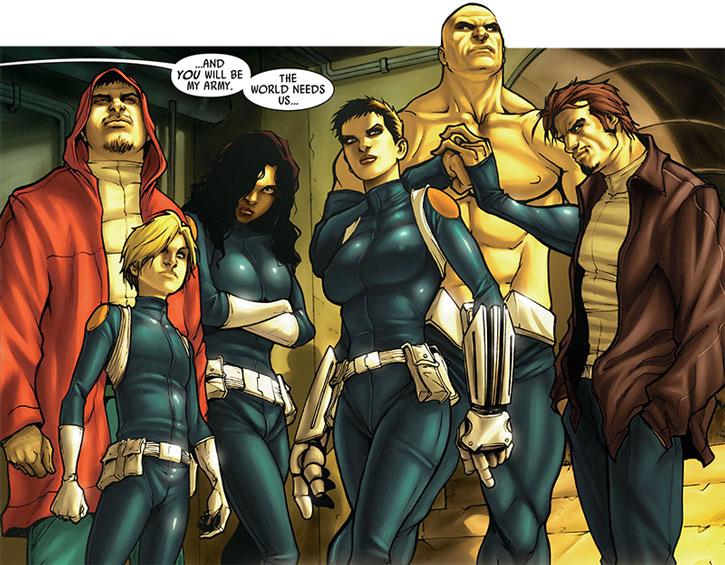 The Secret Warriors group shot