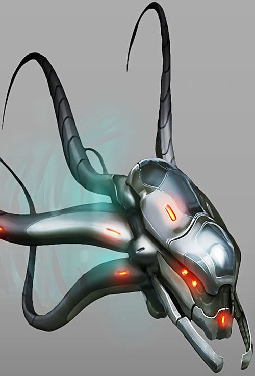 XCom video game - Seekers concept art excerpt