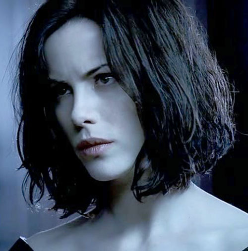 Selene (Kate Beckinsale in Underworld movies) being extremely pale