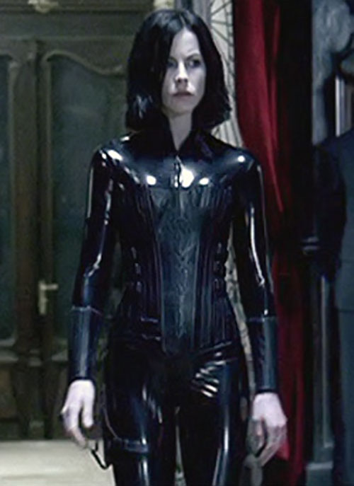 Selene (Kate Beckinsale in Underworld movies)'s catsuit