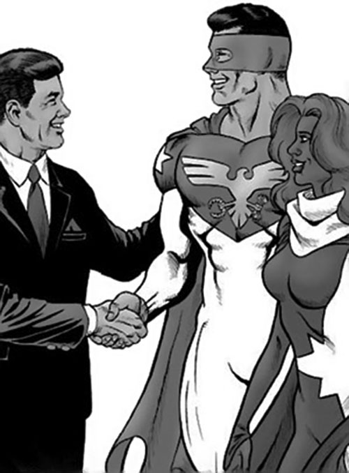 Sentinel (Silver Age Sentinels RPG) and President Kennedy