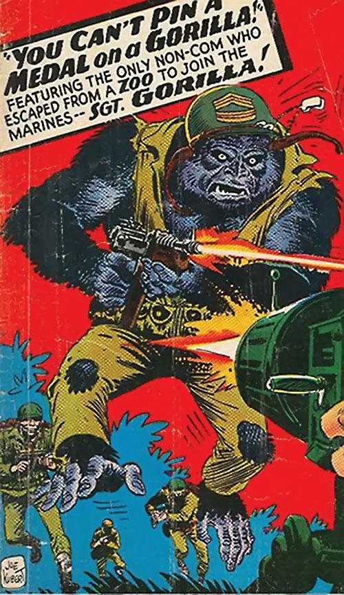 Sergeant Gorilla (DC Comics Star Spangled)