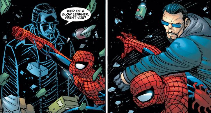 Shade vs. Spider-Man