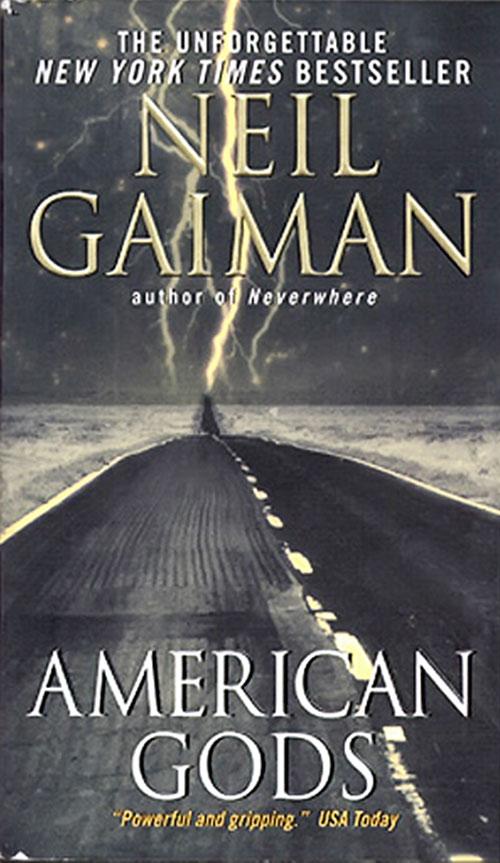 American Gods by Neil Gaiman (novel cover)