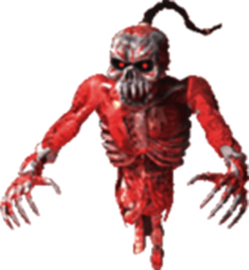 Coolie zombie (Shadow Warrior) with explosives crate - ghost form
