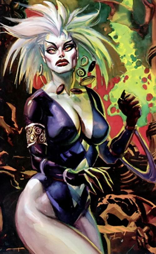 Shadowmage of the Solution (Ultraverse Malibu comics) by Brereton