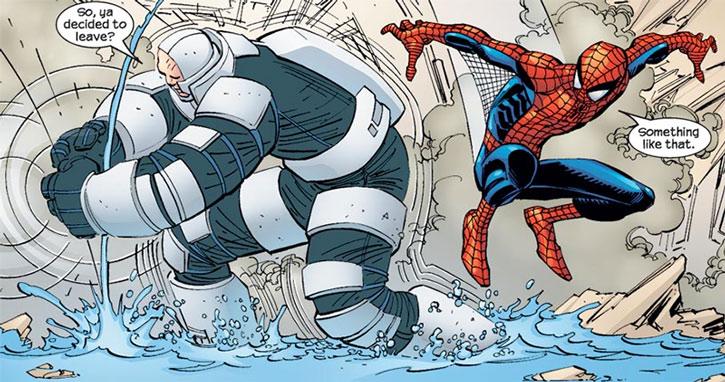 Shaker vs. Spider-Man