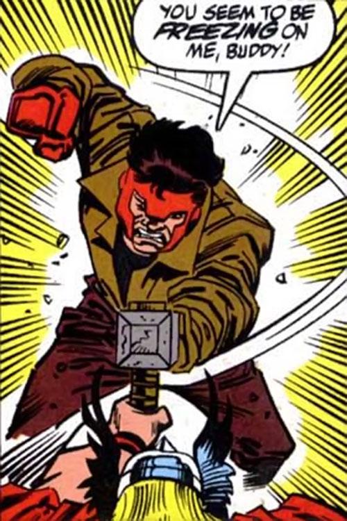 Shatterfist (Thor enemy) (Marvel Comics) vs. Thor