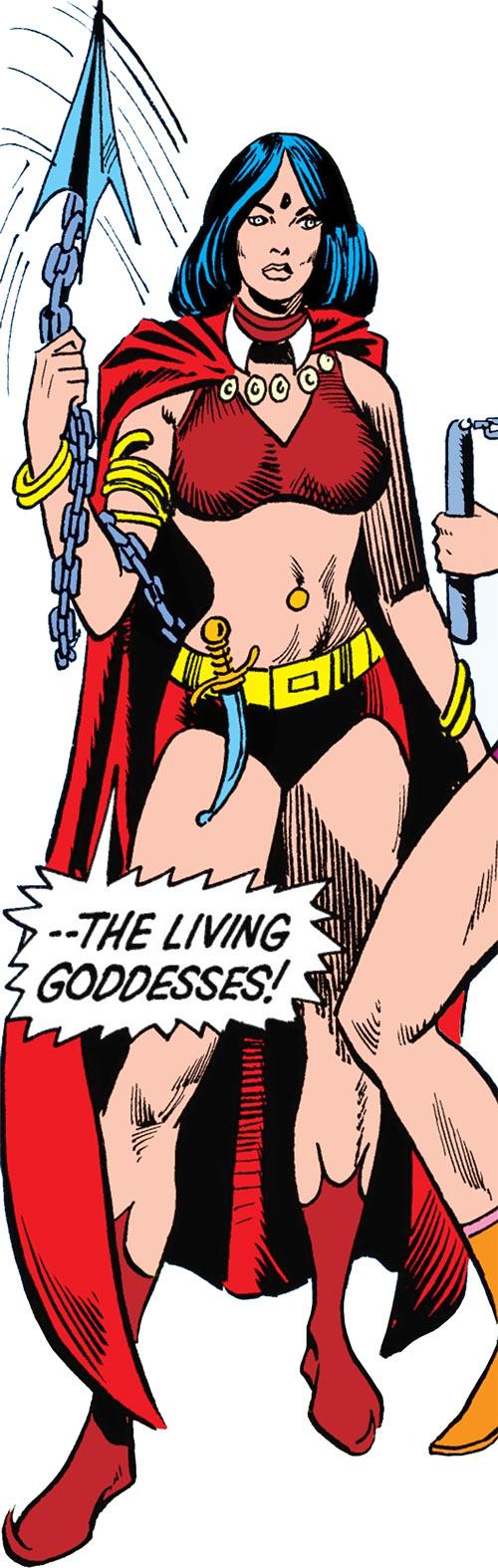 Shaya of the Living Goddesses (Iron Fist enemy) (Marvel Comics)