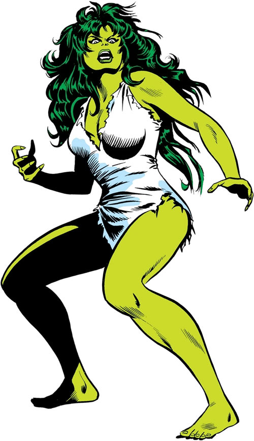 She-Hulk (Marvel Comics) (Early) Mike Vosburg and Chic Stone art