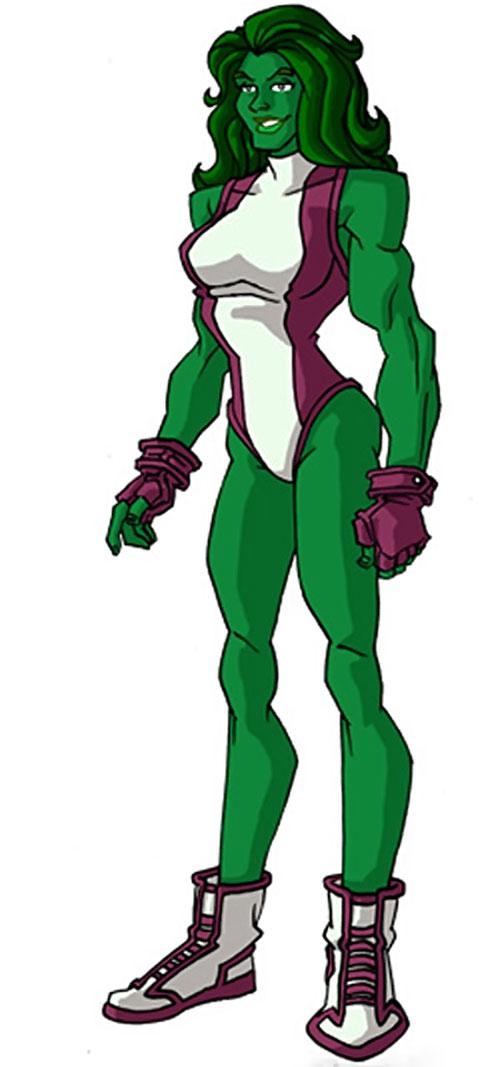 She-Hulk (Marvel Comics) by RonnieThunderbolts 1/2