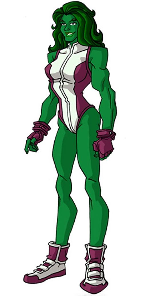 She-Hulk (Marvel Comics) by RonnieThunderbolts 2/2