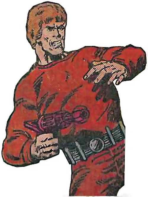Shellshock (Marvel Comics) in 1980