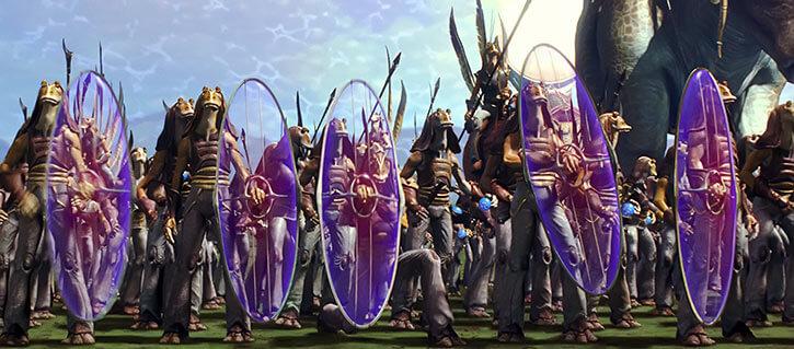 Gungan force shields (Star Wars)