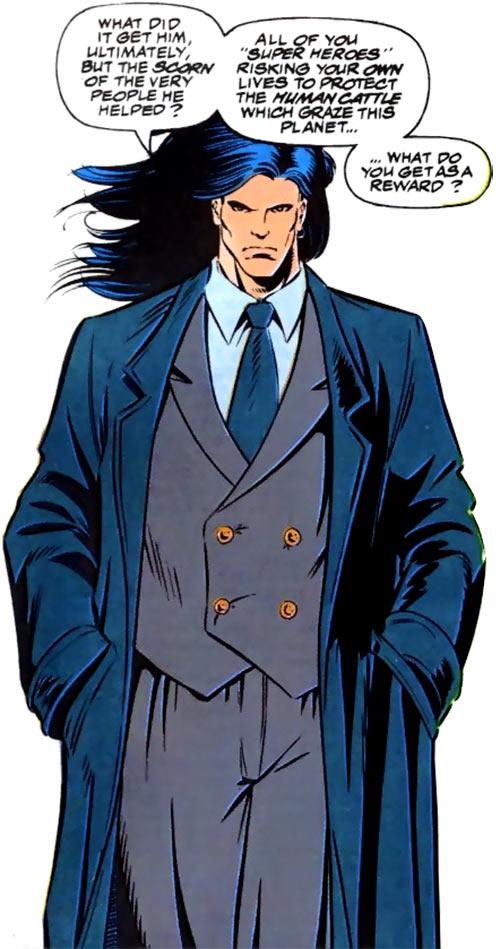 Shinobi Shaw (Marvel Comics) in a nice suit