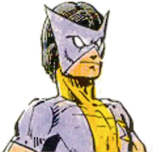 Shocker (Villains & Vigilantes RPG) color head closeup
