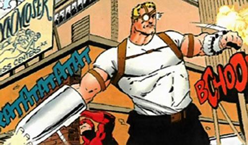 Shooter (Spider-Man / Daredevil enemy) (Marvel Comics) in action