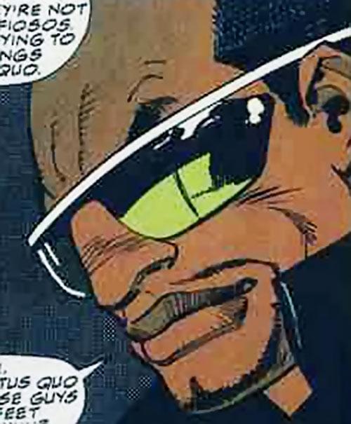 Shotgun (Marvel Comics) face closeup