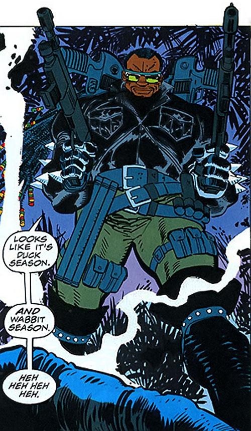 Shotgun (Punisher character) (Marvel Comics) dual-wielding shotguns