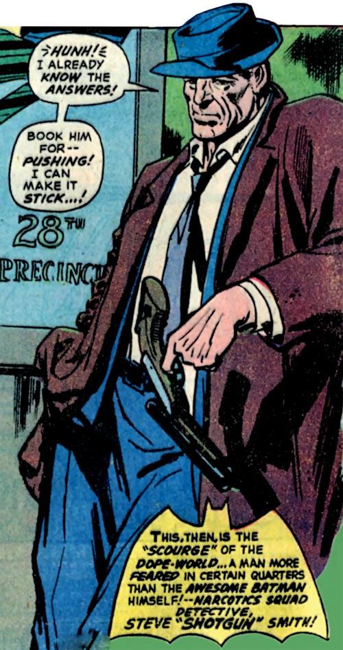 Shotgun Smith (Batman character) (DC Comics) vintage appearance